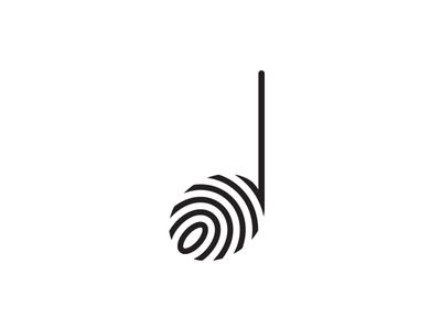Music Note Logo by Gareth Hardy - Dribbble