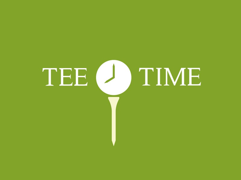 Tee Time by Gareth Hardy on Dribbble