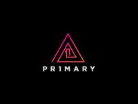 Primary Logo symbol monogram 1 p design creative studio number primary icon logo
