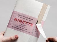 Ninette Theatre Book