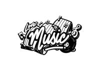 """lettering project """"Music"""""""