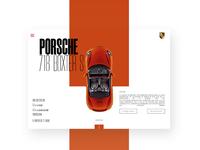 Porsche UX Design