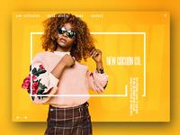 Fashion Store UX design
