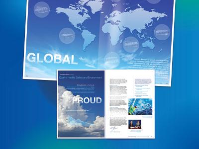 Doosan Babcock Energy - Annual Report adobe indesign power plant energy publication design editorial design annual report graphic design