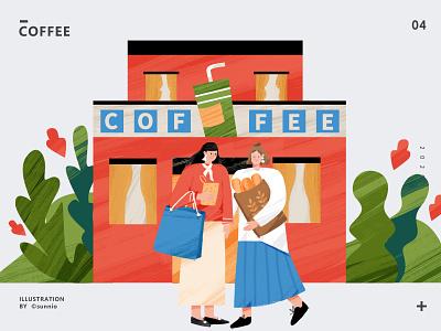 coffee coffee 插画 illustration