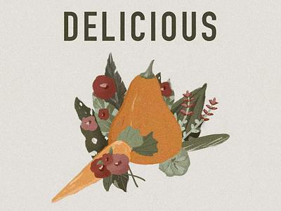 Food procreate illustration 插画