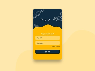 Sign Up Page #DailyUI #01