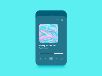 Music Player #DailyUI