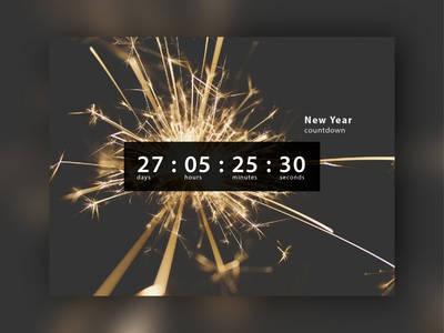 Countdown timer #dailyui