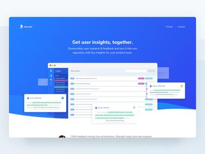 Shipright Lander - Get user insights, together.
