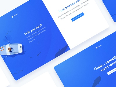 Shipright Status Pages web design ux research user research ui design ui illustration product design blue