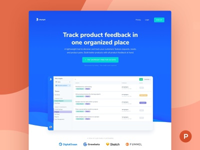 Shipright on Product Hunt! 🚀 web app ui design product hunt product manager product management product design customer experience chrome extension