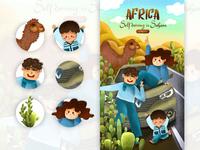 AFRICA-selfdriving in sahara