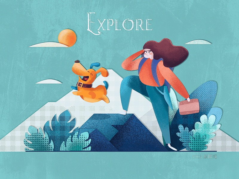365days practice-015——explore design ui illustration