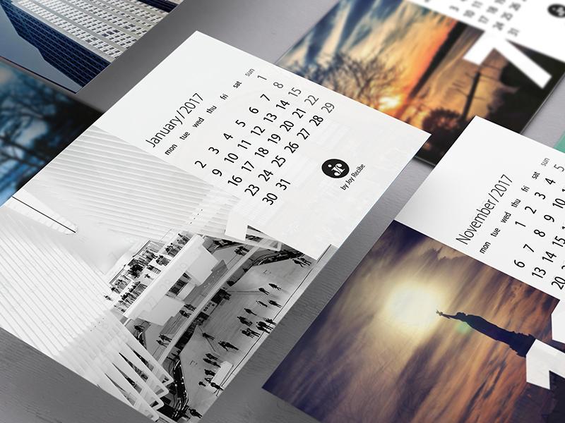 4x6 2017 Calendar Printable (FREE) printable 2017 calendar