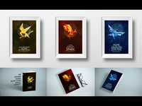 Hunger Games Book Cover concept
