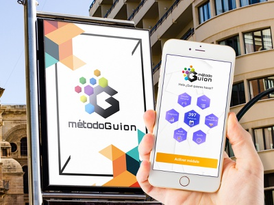 Diseño Logotipo MétodoGuion app illustrator icon typography identity vector ux branding logo design