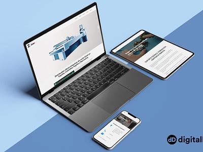 Diseño web ZCAM SISTEMAS typography illustration identity web responsive website branding logo design