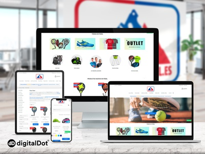 Diseño web OLIMPO DEL PÁDEL ui identity vector ux responsive web website branding logo design