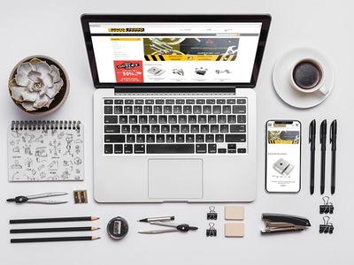 Diseño y desarrollo tienda online bricoferro