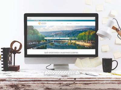 Diseño y desarrollo web inmobiliaria Oriveria