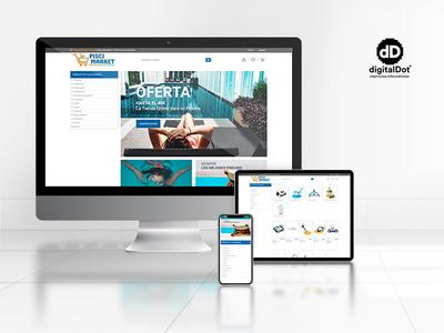 Diseño y desarrollo de tienda online Piscimarket