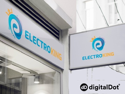 Diseño logotipo Electroking