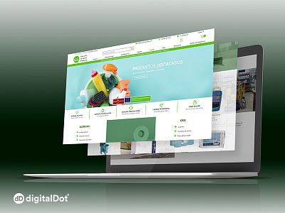 Diseño y Desarrollo de Tienda Online Ardely identity minimal vector ux responsive website web branding logo design