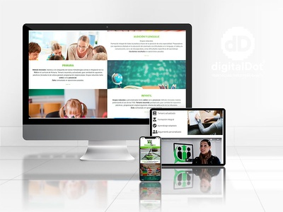 Diseño y Desarrollo web Innováticos ui identity vector ux responsive website web branding logo design