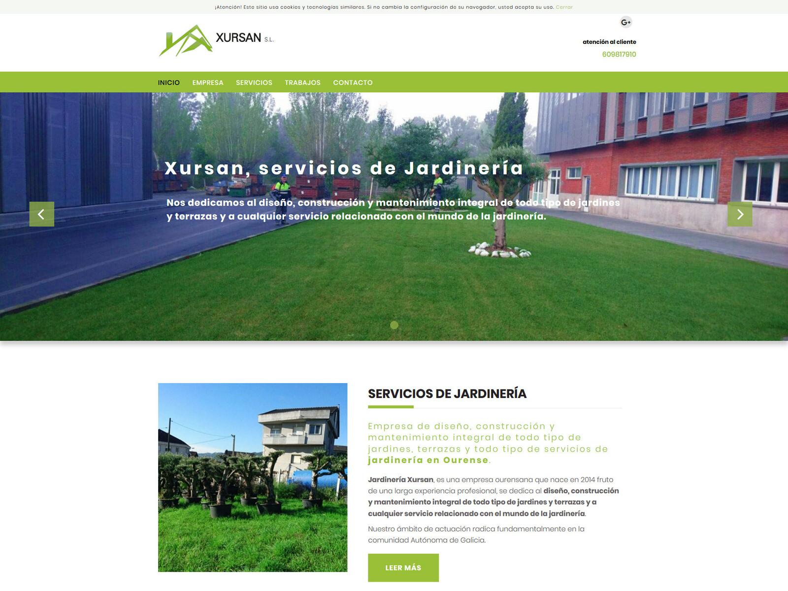 Diseño Web Para Empresa De Jardinería Search By Muzli