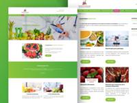 Diseño web empresa de dietética y nutrición