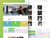 Mock Up Presentacion Web clínica dental