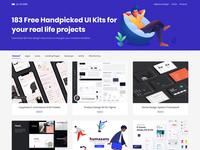 UI Store - Free Handpicked UI Kits