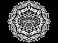 mandala, pattern, Illustration, design