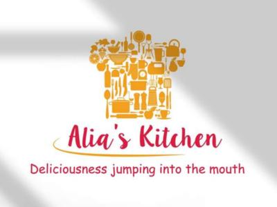 Alia's kitchen branding logo logo branding marketing