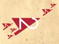 42 anniversary Logo - Birds