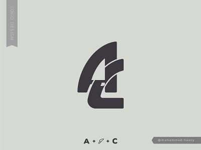AC Monogoram - Logo black branding brand logodesigner black and white monogram graphic designer graphic design designer design logo designer logodesign logo