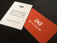 Givsum Business Cards