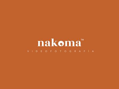 Nakoma Logo Naranja branding art direction vector logo identity design