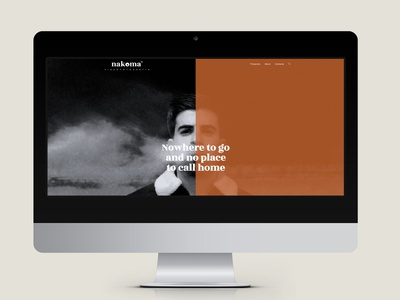 Nakoma website artidirection graphicdesign graphic indetity website web