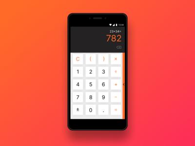 Calculator DailyUI 004