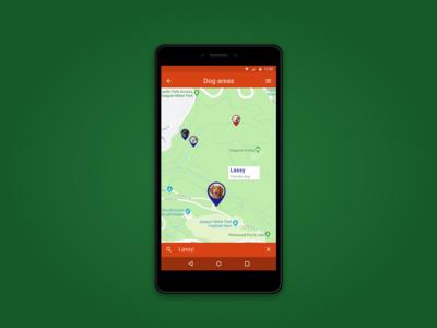 Location Tracker Dog Areas