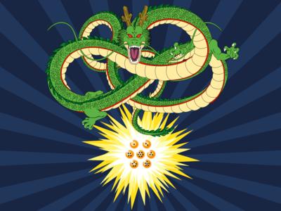 Shenron dragon ball z dragon ball design illustrator art illustrator