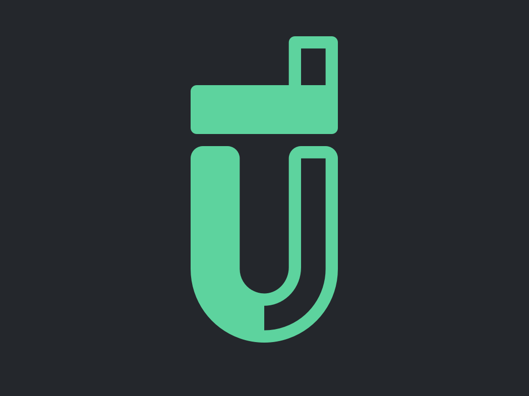 #50TypeDays 01 -  UL lettering type flat vector typography