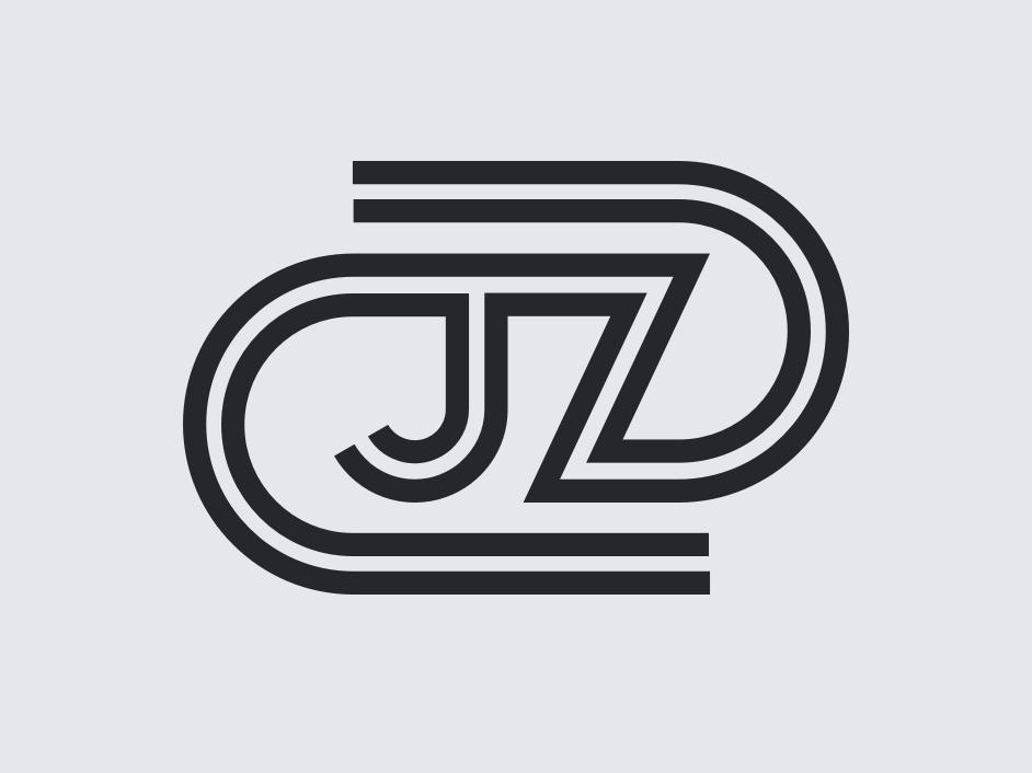 #50TypeDays 02 -  JZ lettering type flat vector typography