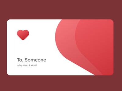 Love card 💕