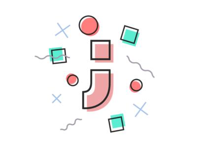 """Art of Letter """"J"""" 😍💕"""