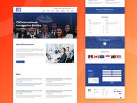 CM International Immigration Service Website