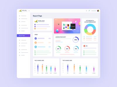 SEO Audit Software UI Design
