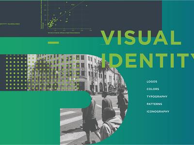 Local Branding // Data + Story identity gradient design branding design guidelines branding